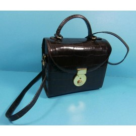 Russell & Bromley Italian Crocodile Leather Shoulder Bag