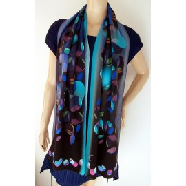 Georgina Von Etzdorf Fabulous and Amazing Color Scarf