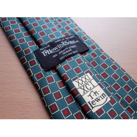 T. M. Lewin Silk Tie XXXI XCI Unused