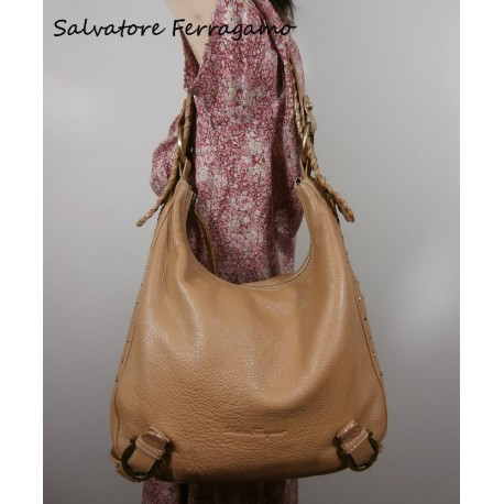 Salvatore Ferragamo Luxury Leather Handbag