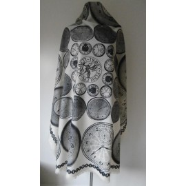 Timney Fowler Horology Timepieces Huge Wool Shawl