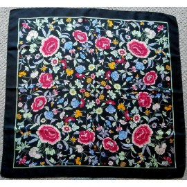 Liberty of London Collier Campbell Design Vintage Silk Scarf