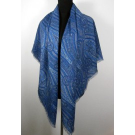 Liberty of London Samarkand Large Varuna Wool Vintage Shawl