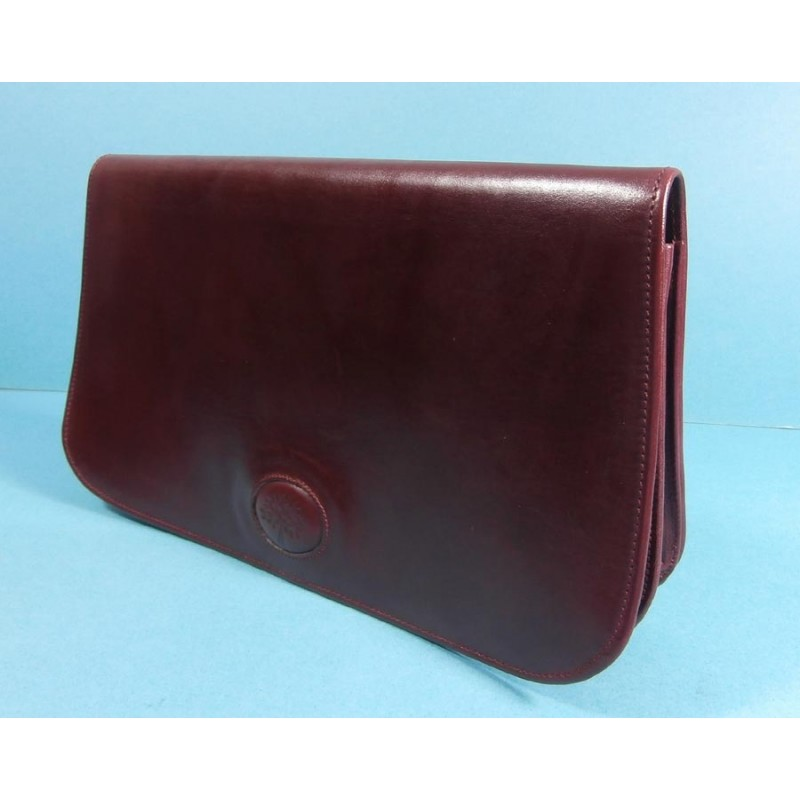 be07fe43585 ... coupon for mulberry luxury rich leather vintage clutch bag with  matching mirror a1ea9 242a5