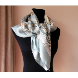 Loewe Ceramica Sevillana Beautiful Silk Large Scarf