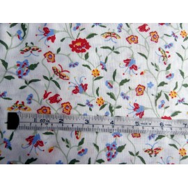 Laura Ashley Floribunda 20 Yards Vintage Curtain, Dress, Interiors, Quilting, Craft Fabric