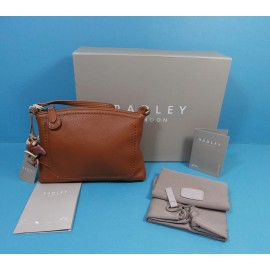 Radley New With Tags Box Dust Bag & Receipt - Leather Small Handbag