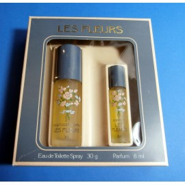 RARE .... Alyssa Ashley Les Fleurs vintage perfume gift set