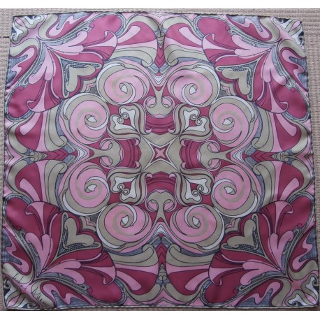 Richard Allan Bold Striking Vintage Silk Scarf