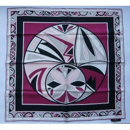 Emilio Pucci Lavish Bold and Bright Silk Scarf