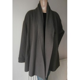 Oska Soft Angora and Wool Coat - Usual Great Details
