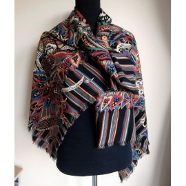 Super Collier Campbell Vintage Huge Shawl
