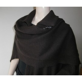 The Cashmere Company 100% Cashmere Enormous Shawl - Poncho - Wrap