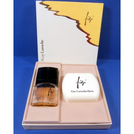 Guy Laroche Fidji Eau de Toilette and Soap Gift Box Vintage