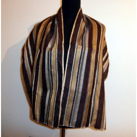Marc Rozier Paris Silk and Kid Mohair Textured So Soft Large Scarf