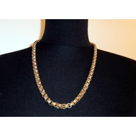 Givenchy Signed Fabulous Heavy Chunky Chain Vintage Necklace