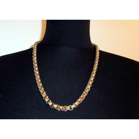 Givenchy Signed Heavy Chunky Chain Vintage Necklace