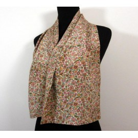 Liberty Rare Silk Double Sided Pretty Ditsy Vintage Scarf