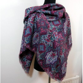 Liberty of London Vintage Varuna Wool Shawl