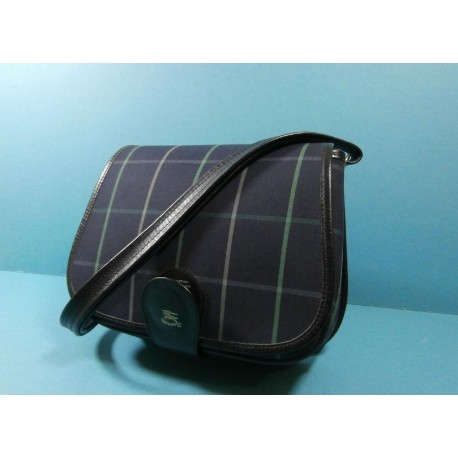 Burberrys Haymarket Check Vintage Saddle Bag