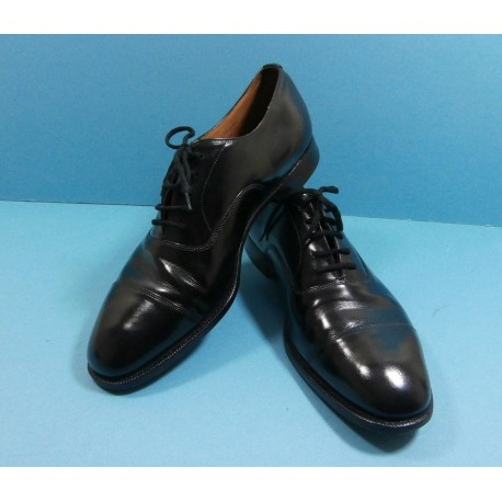 Church's Oxford Shoes Custom Grade Balmoral Black Leather