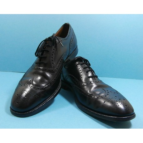 Church's Brogues Custom Grade Chetwynd Black Calf Leather Shoes