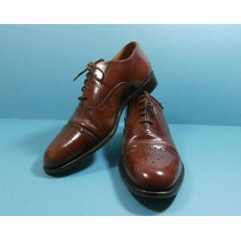 Groocock Glossy Rich Leather Brogue Shoes