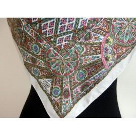 Liberty Pretty Art Deco Inspired Vintage Silk Scarf