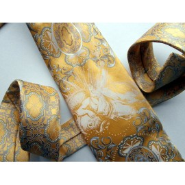 Gianfranco Ferre Neptune Sea God Silk Tie