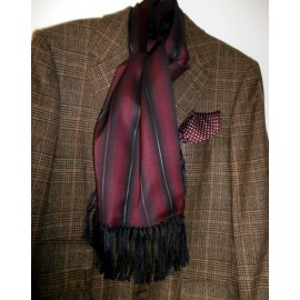 Unusual Tootal Vintage Scarf Colors are Rich and Expensive Looking