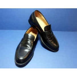 Church Loafer Black Leather Shoes - Church's Loafers