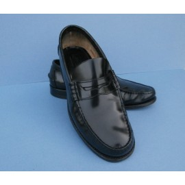 Loake Leather Loafer Shoes - Unusual Lining - Loake Loafers
