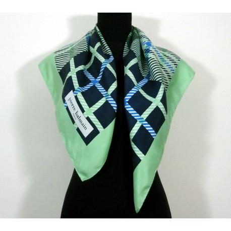 Pierre Balmain Smart with Beautiful Colours Vintage Silk Scarf