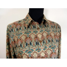 James Meade Liberty Ianthe Design Tana Lawn Fabric Blouse
