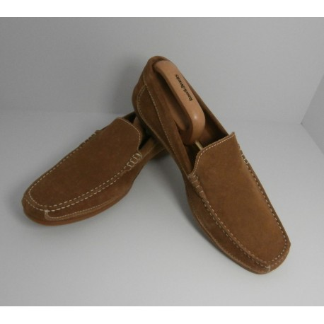 Russell and Bromley Brand New Suede Slip On Loafer Shoes - Size 43 - UK 9