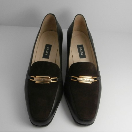 Bally Leather and Suede Loafer Style Shoes