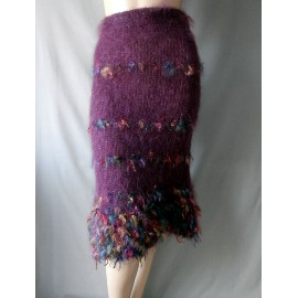Fabulous Antoine Akopian Mohair Skirt Made in France