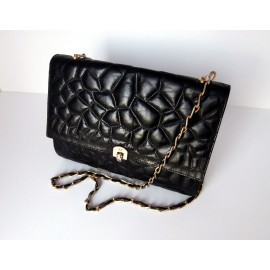 31e6bd837a Charles Jourdan Paris Soft Quilted Leather Bag Chanel Style