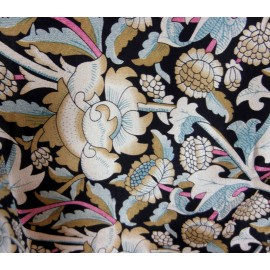 Fabulous Fox & Chave William Morris Mix Design Silk Scarf