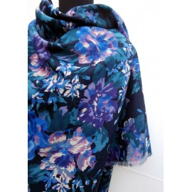 Gorgeous Colors Liberty Jacqueline Varuna Wool Scarf Shawl