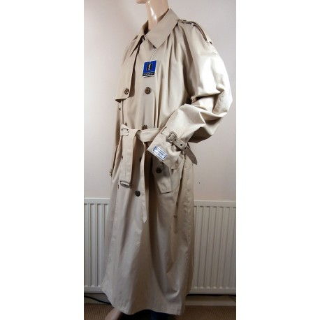 RRP £1,930 Yves Saint Laurent Trench Coat With Tags Vintage