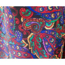 Amazing!!! Liberty London Exploding Colors Varuna Wool Shawl - Scarf