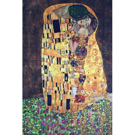 Gustav Klimt Huge The Kiss Wool Scarf/Shawl, New With Tag Great For A Gift