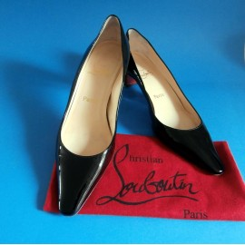 Christian Louboutin Black Patent Leather Shoes