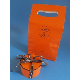 Hermes Losange Silk Scarf with Hermes Box & Bag