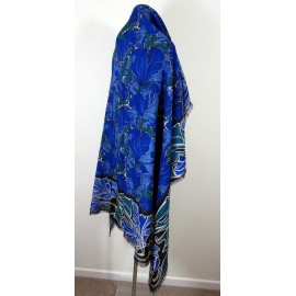 Liberty Amazing Colours Varuna Wool William Morris Large Shawl