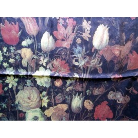 Beckford Dutch Flower Painting Kunsthistorisches Museum Silk Scarf