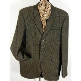 Hardy Amies Country Tweed Vintage Jacket Blazer
