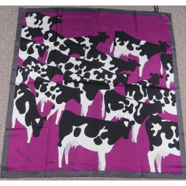 Maggie Rowe Famous Painter-Artist Silk Scarf Printed by Beckford Silk