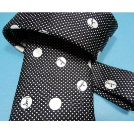 Jaeger Smart Signature Spotty Dotty Silk Tie